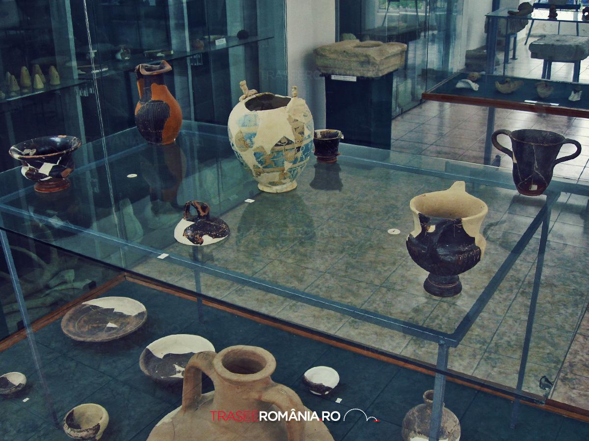 Vestigii la Muzeul Arheologic Histria