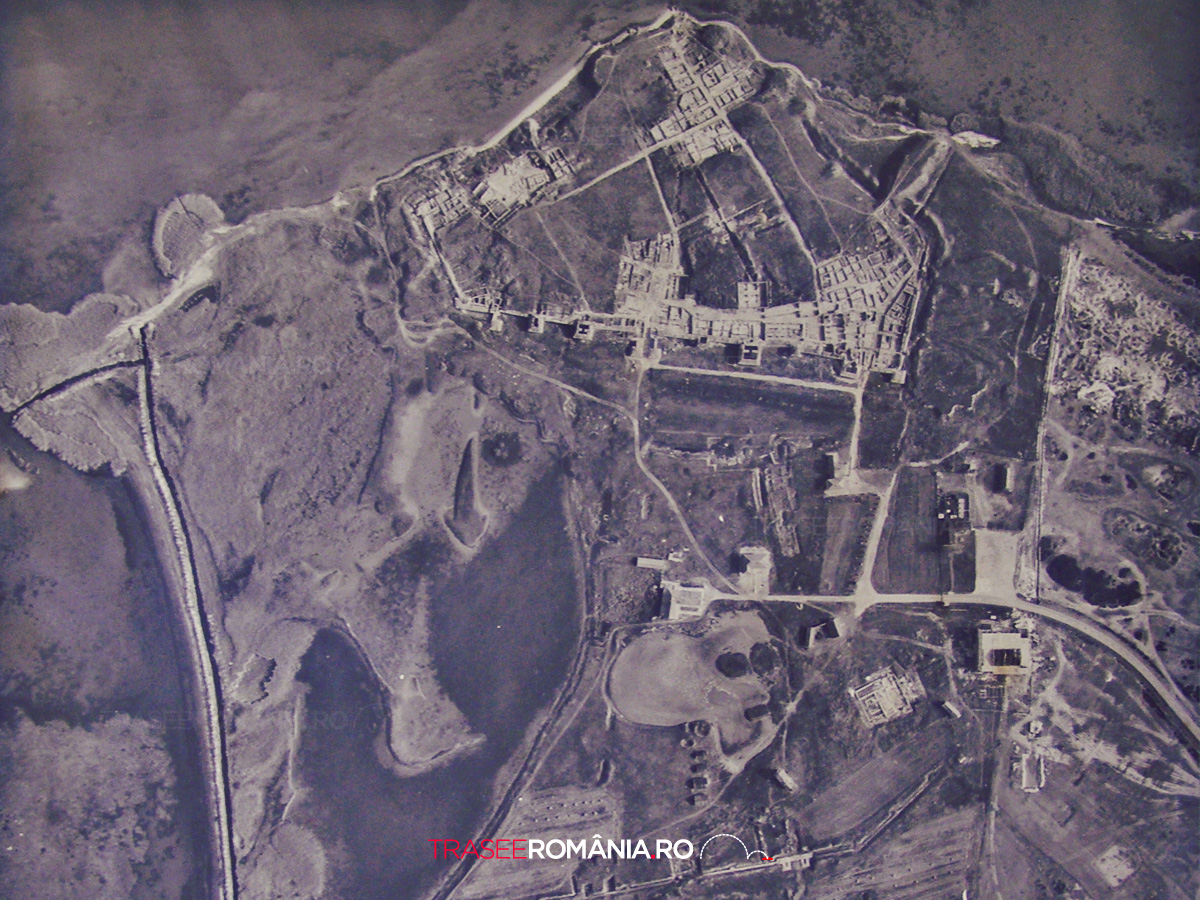 Harta Complexului Arheologic Histria