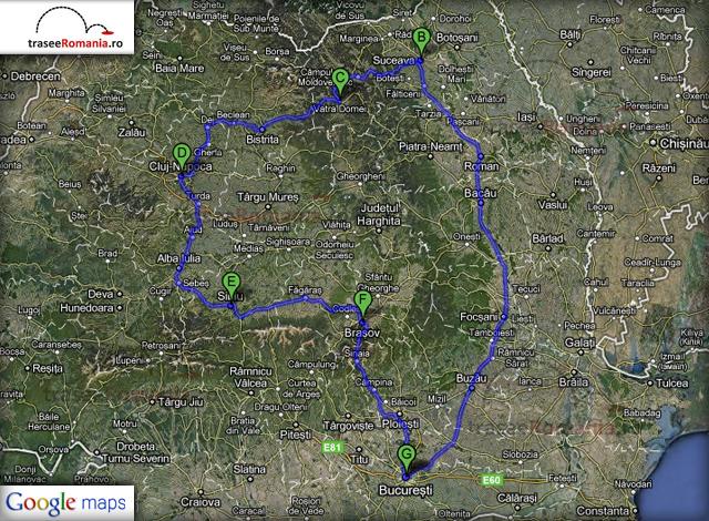 Turul Turistic Al Romaniei Trasee De Calatorie Si Turism In Romania