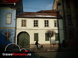 casa in care a poposit Mihai Eminescu Sibiu