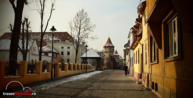 Strada cetatii Sibiu