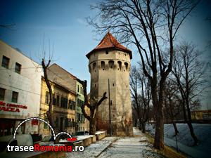 Turnul Archebuzierilor Turnul Panzarilor Strada Cetatii Sibiu