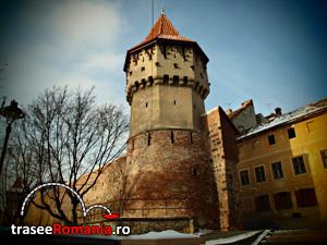 Turnul Dulgherilor - incinta a III-a de fortificatii Strada Cetatii Sibiu