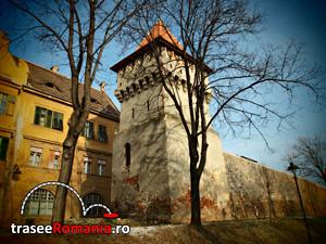 Turnul Olarilor Strada Cetatii Sibiu