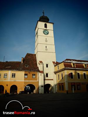 Turnul Sfatului Piata Mare Sibiu