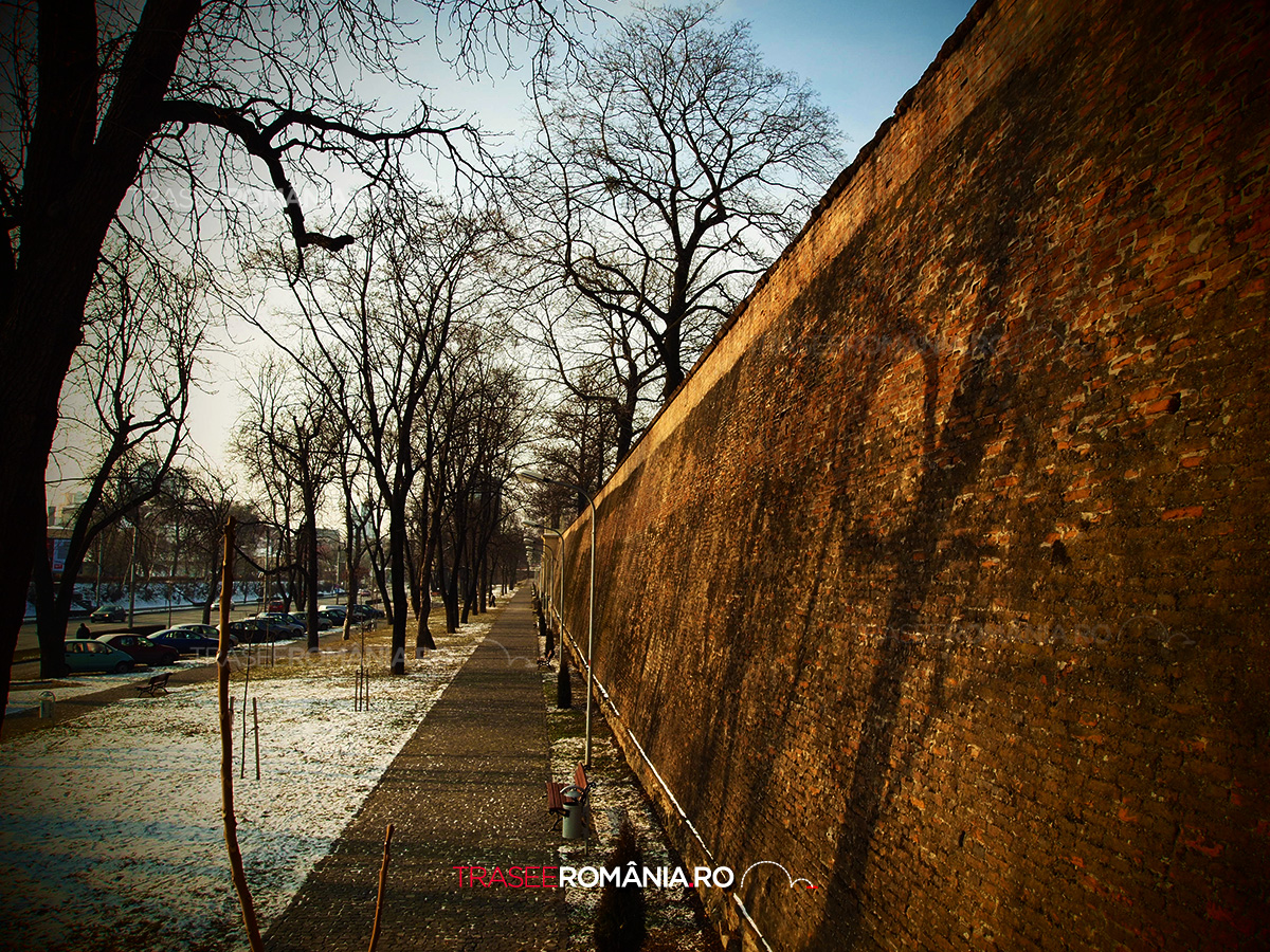 Zidul vechi al cetatii Sibiu