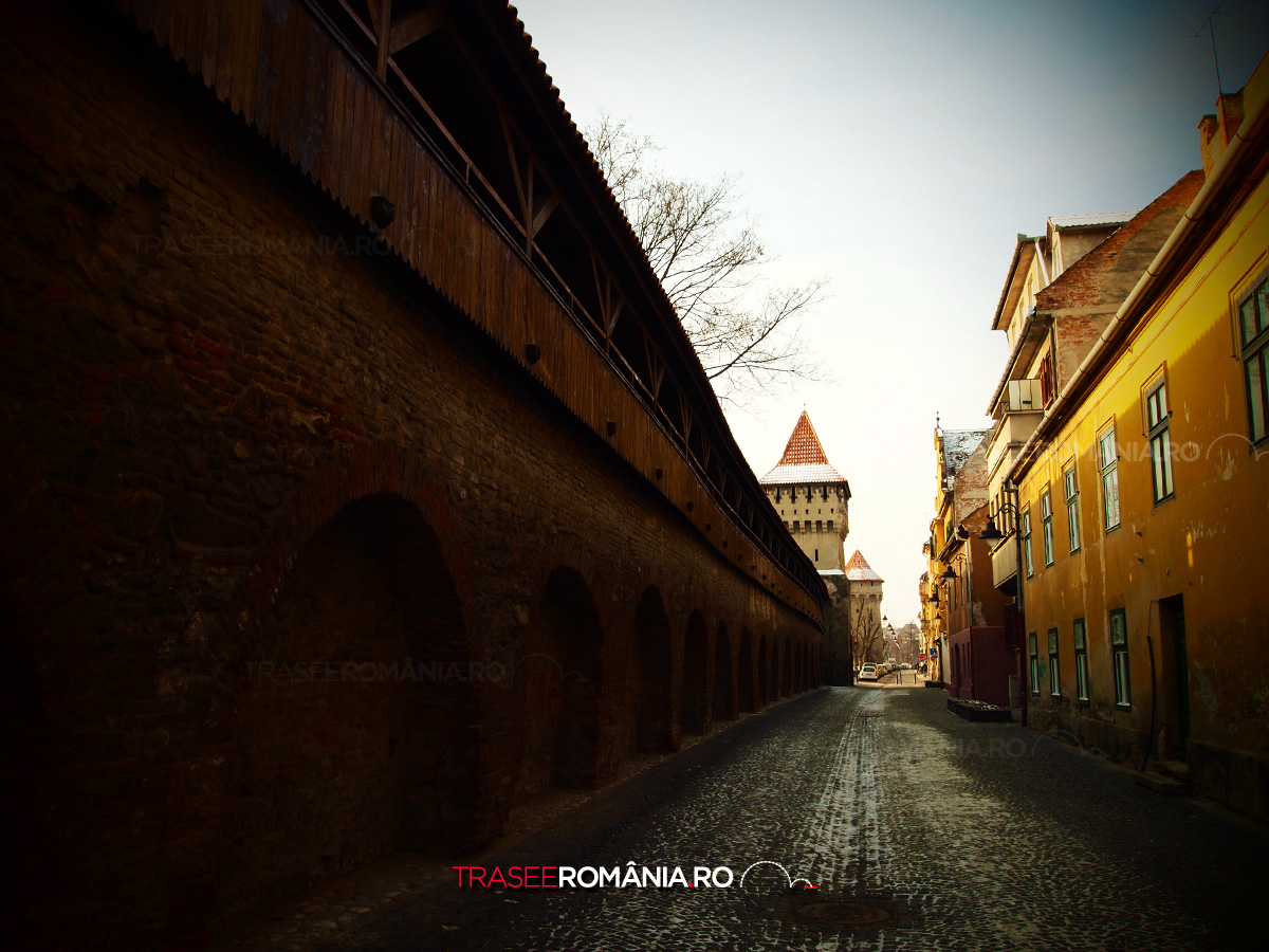 Strada Cetatii din Sibiu