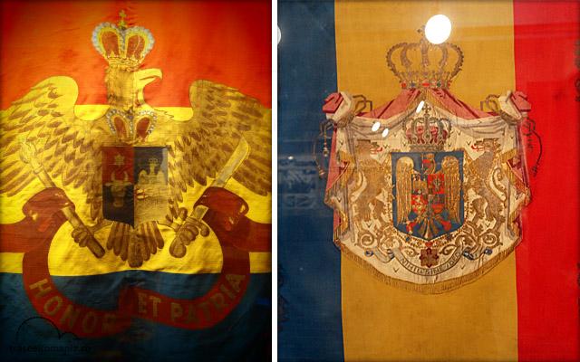 muzeul miliar national bucuresti colectia drapeluri