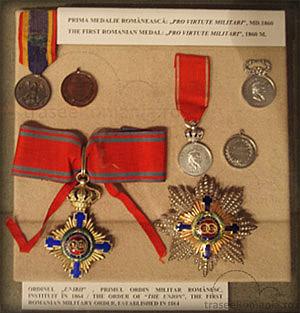 muzeul miliar national bucuresti colectia medalii