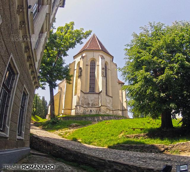 Sighisoara - Biserica din deal