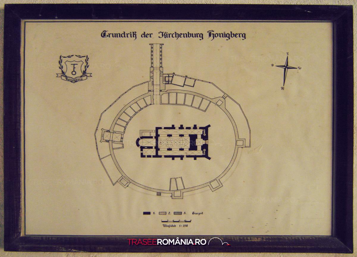 Biserica fortificata de la Harman