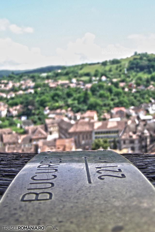 Sighisoara - panorama din Turnul cu ceas