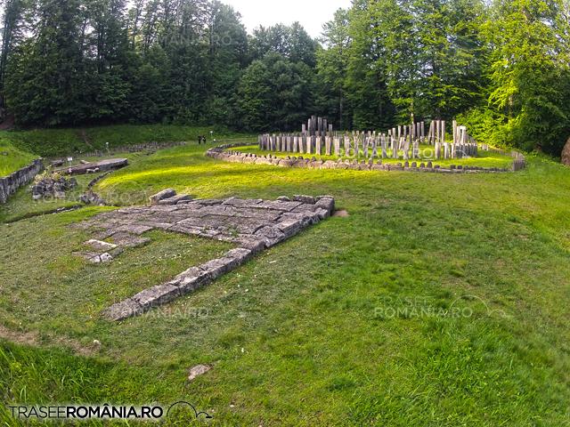 Sarmizegetusa Regia - Muntii Orastie - Sanctuarul mare circular