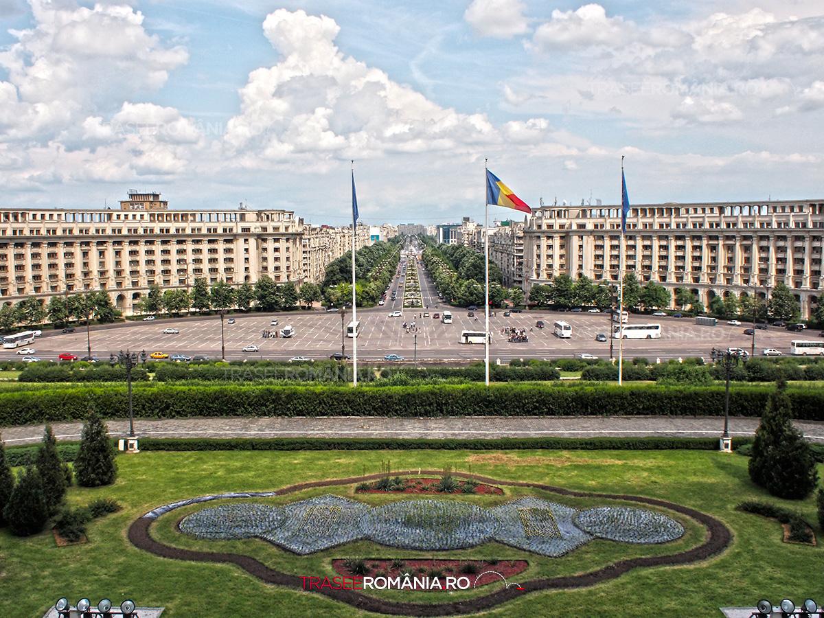 Casa Poporului, Palatul Poporului sau numit recent Palatul Parlamentului
