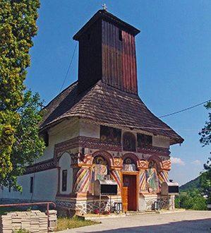 Biserica Sfintii Voievozi din Cheia Judetul Valcea