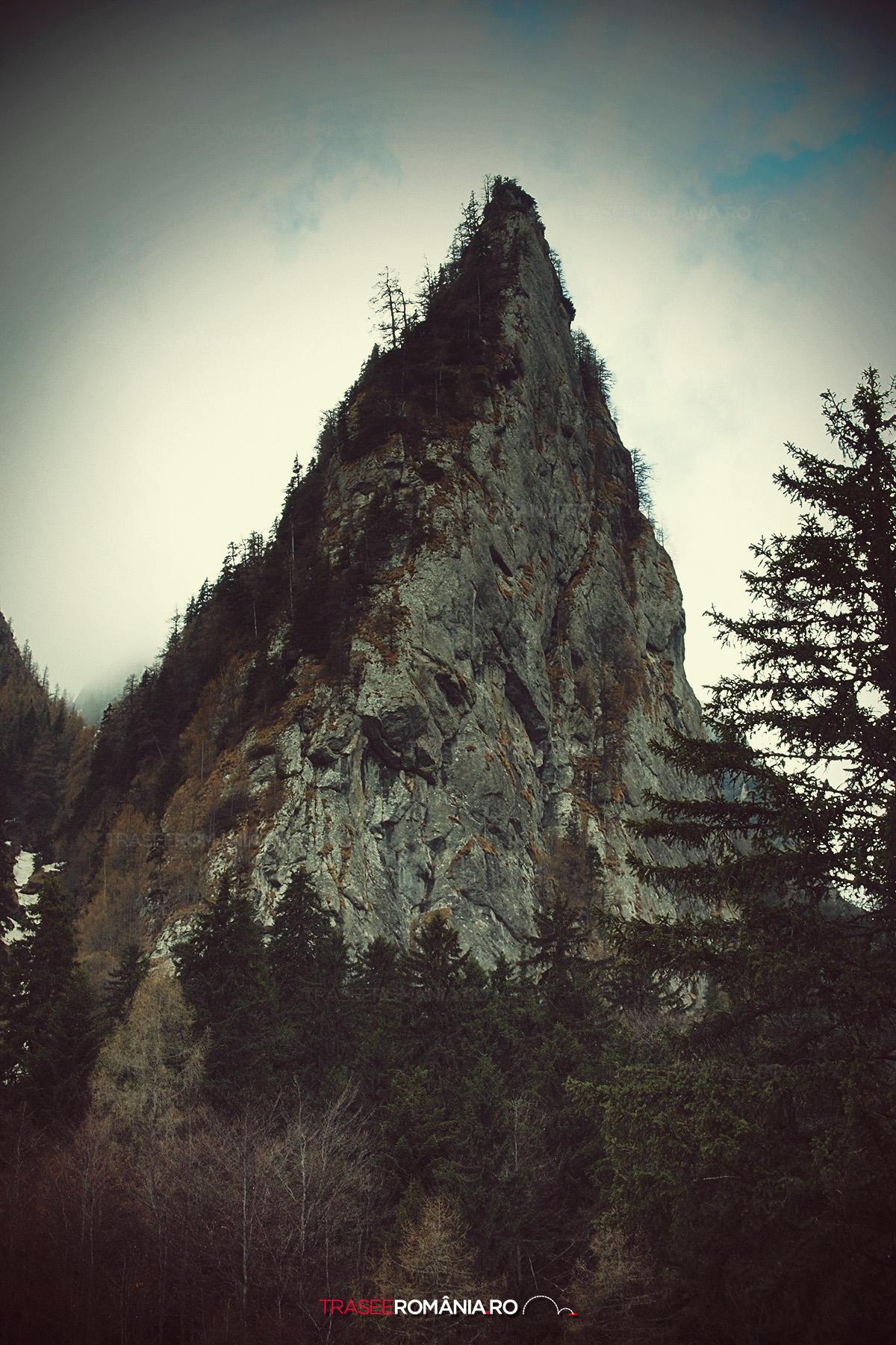 Primavara pe Valea Cerbului in Muntii Bucegi