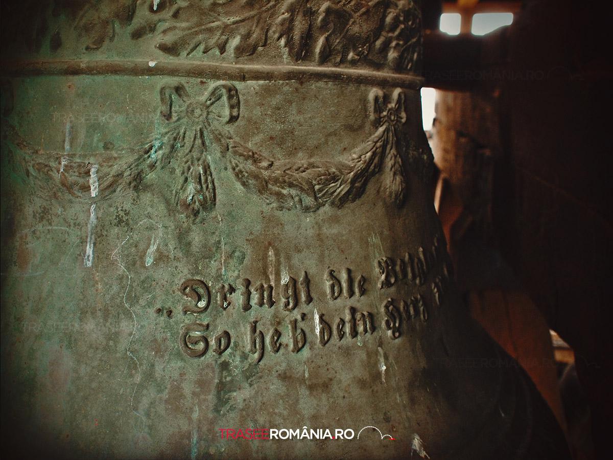 Clopotul din turnul Cetatii din Calnic