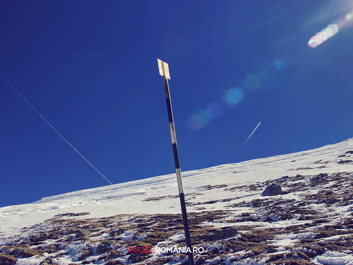 Traseu de iarna la Varful Omu si Coborare spre Valea Cerbului