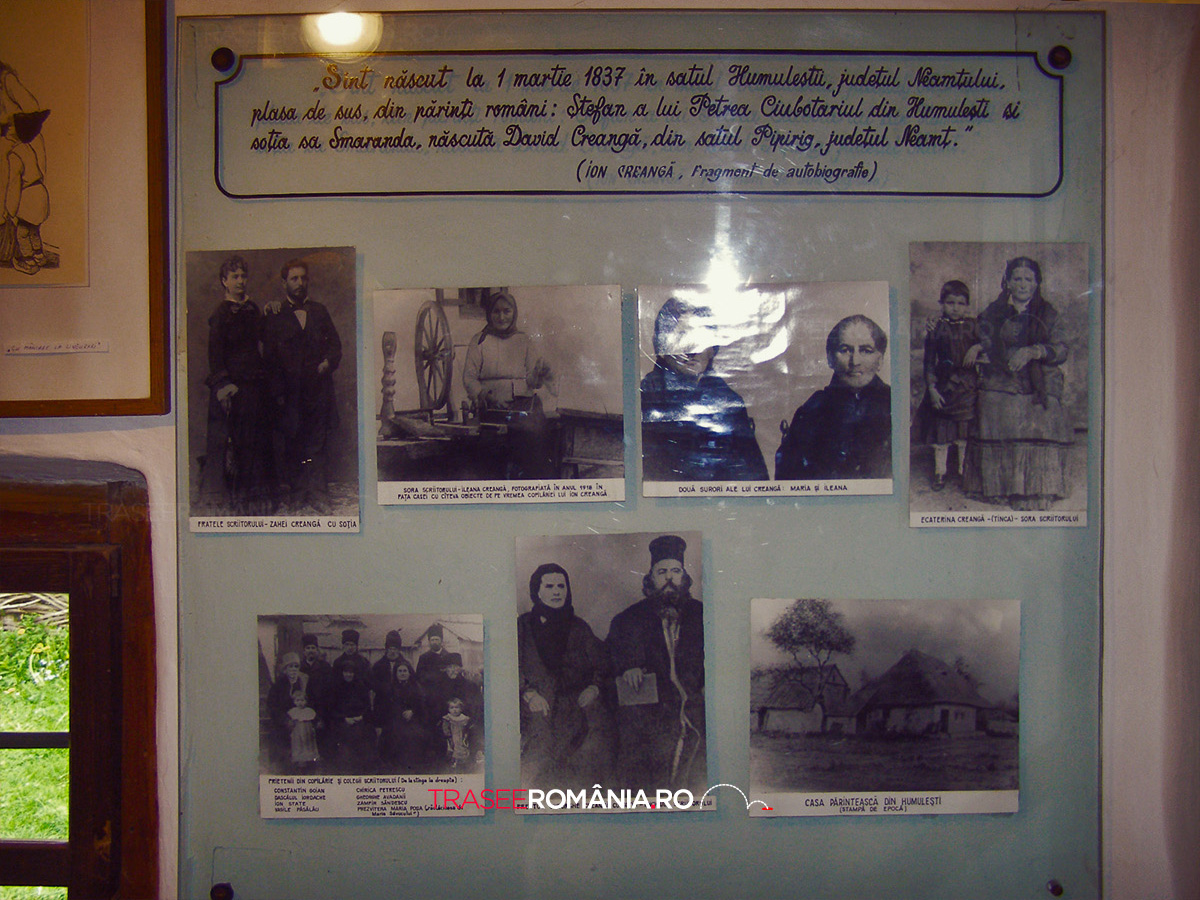 Casa memoriala Ion Creangă din Humulesti