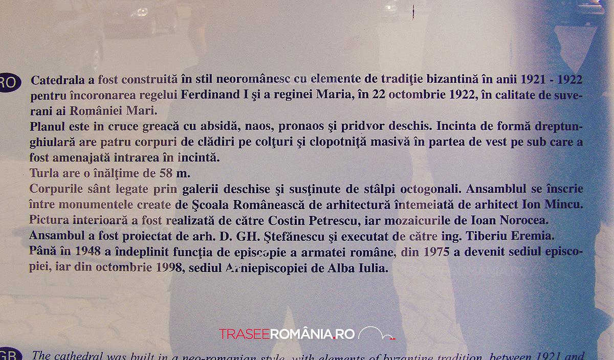 CATEDRALA UNIRII ALBA IULIA