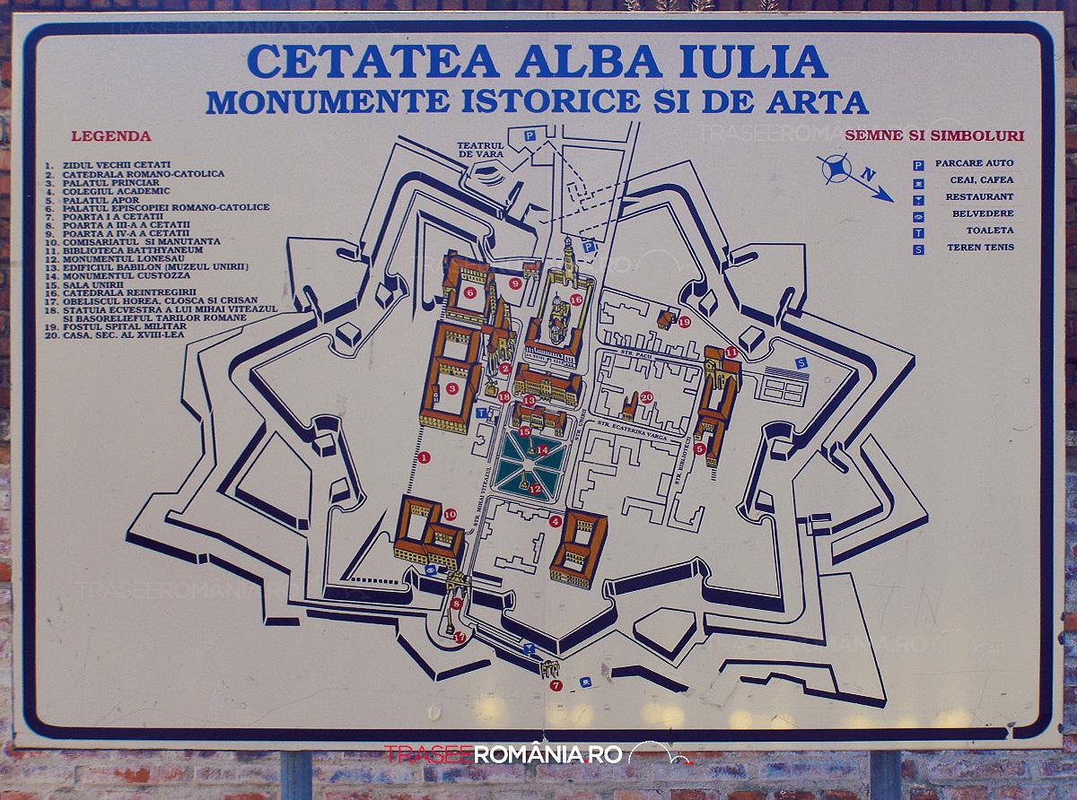 VIZITEAZA CETATEA ALBA IULIA
