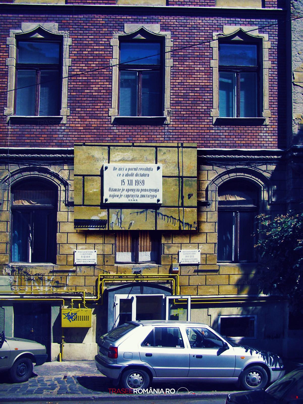 Casa de unde a pornit RevoluTia la TimiSoara