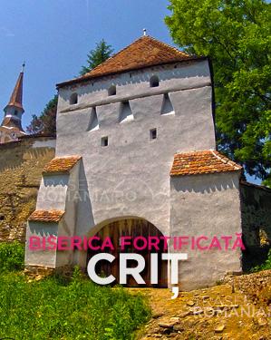 Biserica fortificata de la Crit
