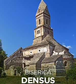 Biserica ortodoxa Sfantul Nicolae din Densus