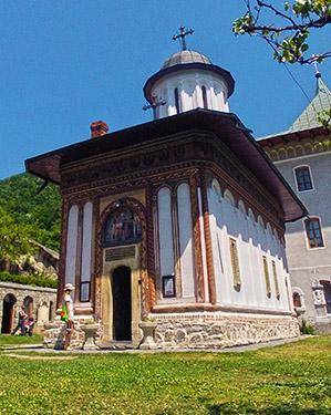Manastirea Turnu din Judetul Valcea